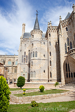 The Episcopal Palace In Astorga Royalty Free Stock Photography - Image: 26620377