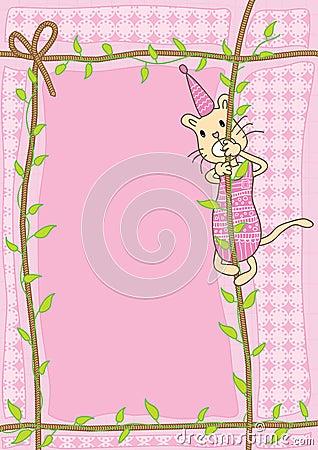 веревочка eps подъема кота