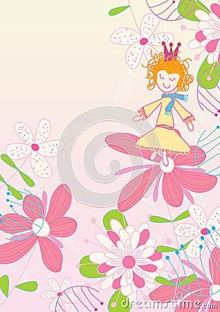 χορεύοντας eps λουλούδι