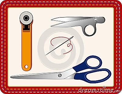 +EPS scherpe Hulpmiddelen om te naaien, het watteren, ambachten