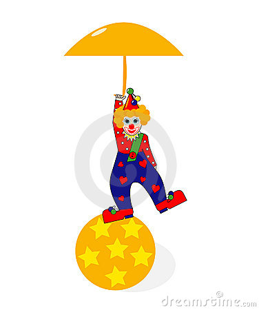 + EPS / Smiling clown
