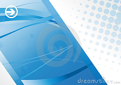 Eps10 Hi-tech blue background