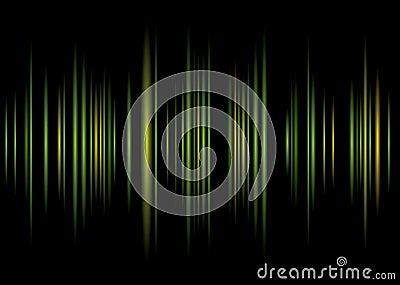 Equaliser green background