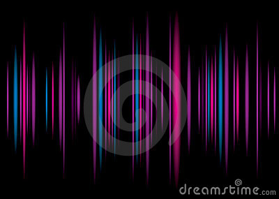 Equaliser purple background