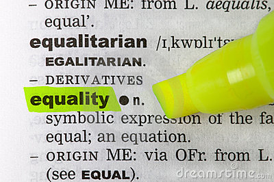 Equality dictionary
