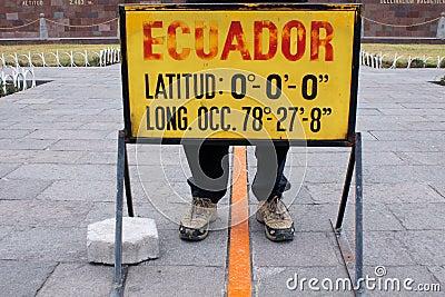 Equator-line