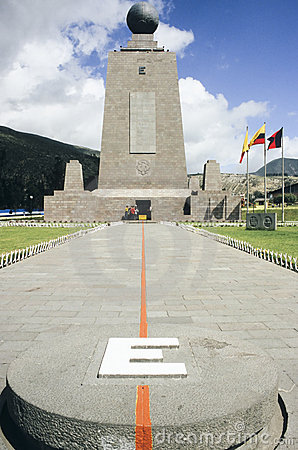 Equator Marker (East Side) - Ecuador