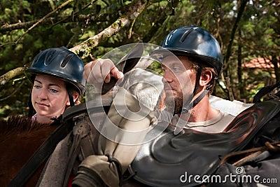 Equestrian Couple