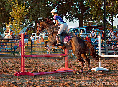 Equestrian Event - Jumper Editorial Image