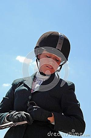 Equestrian Girl