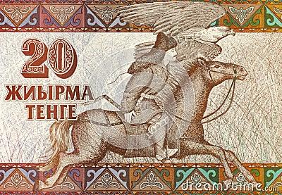 Equestrian Hunter Editorial Stock Photo