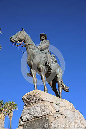 Equestrian Monument - German Rider