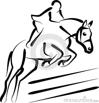 Free Equestrian Sport Royalty Free Stock Photos - 18071028