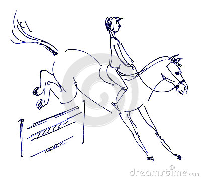 Equestrian sport - show jumping