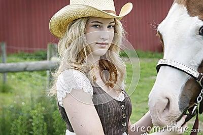 年轻Equestriennes梦想