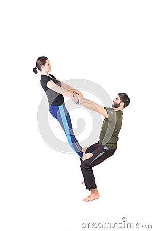 Free Equilibrium Exercise Royalty Free Stock Images - 47735159