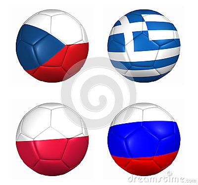 Equipament euro cup 2012 group B