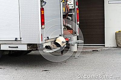 Equipamento do bombeiro