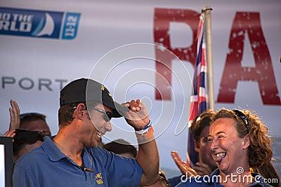 Equipe Geraldton Imagem Editorial
