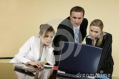 Equipe no trabalho