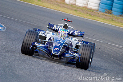 Equipe Williams de Formula 1 de 2006 - pt.dreamstime.com