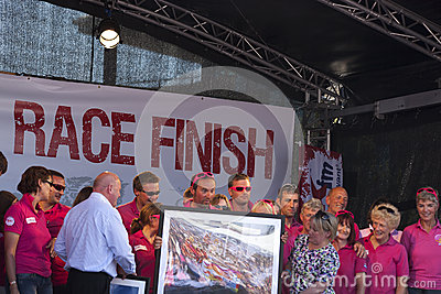 Equipe Yorkshire Foto Editorial