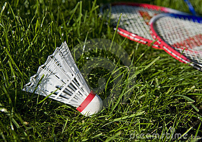 Equipment for badminton