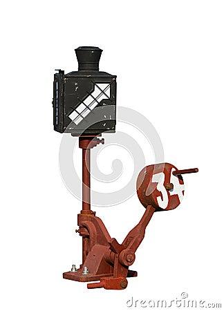 Free Equipment Change Tracks On White Background. Stock Image - 31762121