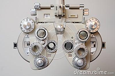 Equipment for Eye Exam