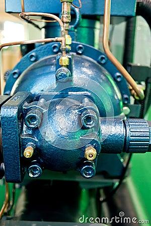 Equipment parts, motor