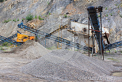 Equipment quarry