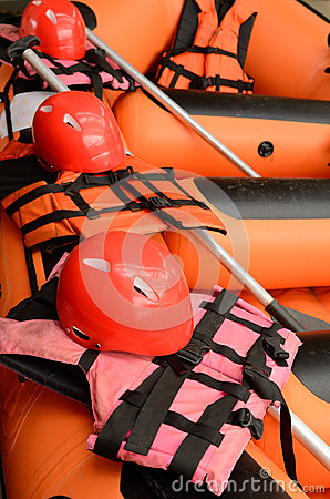 Equipment for rafting