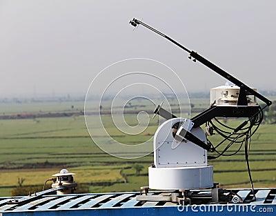 Equipment for solar radiation measurement