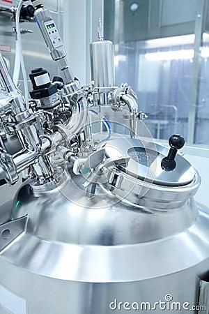 Equipo de laboratorio farmacéutico