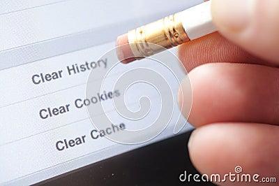 Erase Internet History