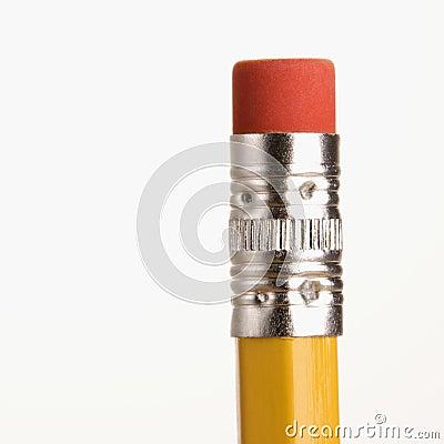 Free Eraser On Pencil. Stock Image - 2425681