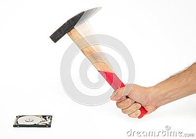 Erasing files