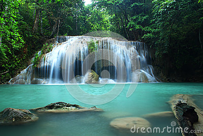 Erawan Waterfall,