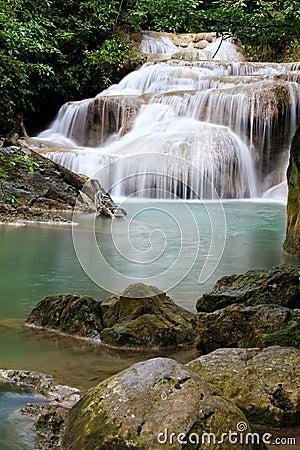 Erawan Waterfall,