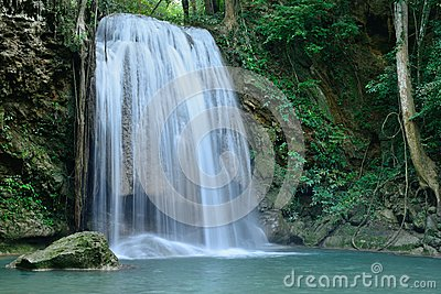 Erawan waterfall,Kanchanaburi province,Thailand.