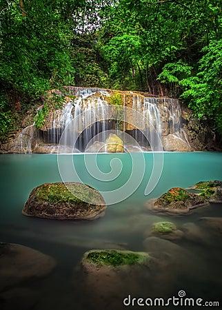 Erawan waterfall National Park Kanjanaburi
