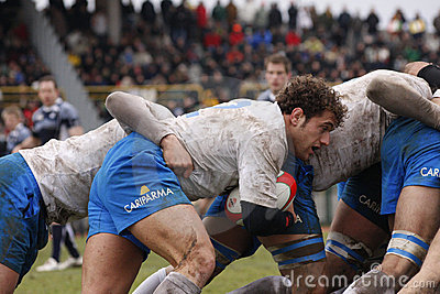ERB Six Nations Rugby - Italy vs Scotland Editorial Photography