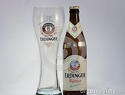 Erdinger beer Editorial Photography