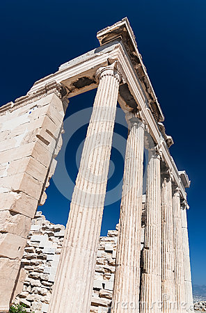 Erechtheion temple on Acropolis, Athens