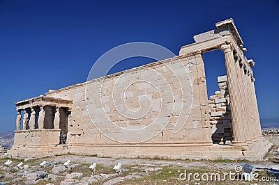 The Erechtheum, Athena, Greece