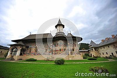 Eredità dell Unesco - monasteri della Moldavia: Sucevita