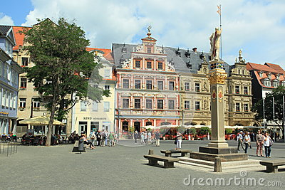 Erfurt Editorial Stock Photo