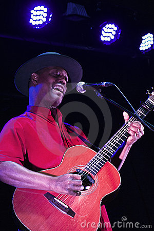 Eric Bibb Editorial Stock Image