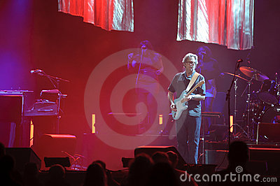 Eric Clapton Editorial Stock Photo