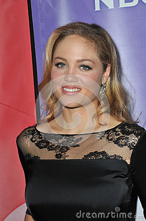 Erika Christensen Editorial Stock Image